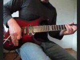 Down down down - Joe SATRIANI cover
