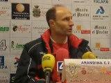 Rueda de Prensa del entrenador del Aguilar.