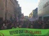 Poitiers manif du 29-01-2009