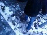 Pieds nus dans la neige 2