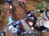 Sortie moto enduro cazaux 01.2009