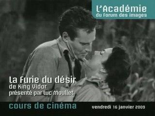 """""""La Furie du désir"""" de King Vidor"""
