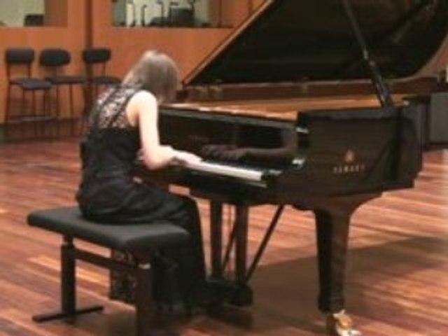1/2 Finale de Piano - Candidat N° 16 -  03 / 02 à 17 H 22