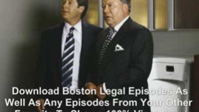 Download Full Boston Legal Episodes