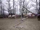 Manon et Edelves cours de saut