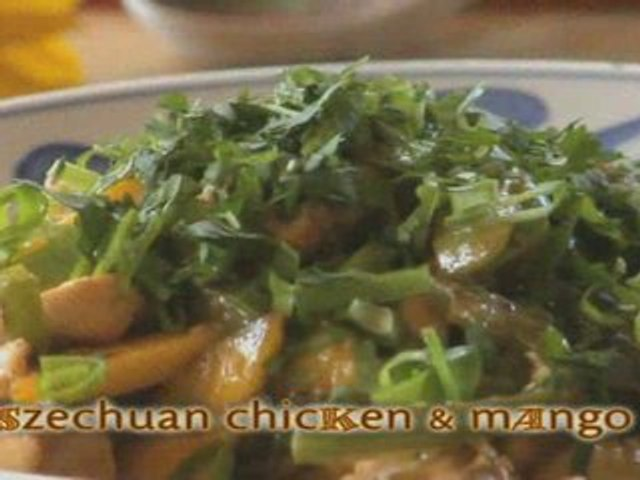 How To Make Szechuan Chicken and Mango
