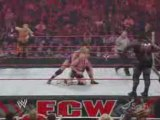 WWE ECW Finlay and Christian VS Jack Swagger and Mark Henry