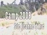 Ste Jeanne D'Arc Camp 2008