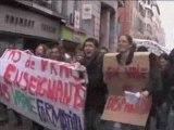 Manifestation enseignants-chercheurs de Marseille
