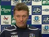 Watch Moyes's silent press conference