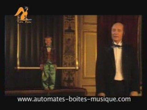 Lutèce Créations présente la bande annonce du DVD Robert-houdin, une vie de magicien, un des films DVD sur le monde des automates