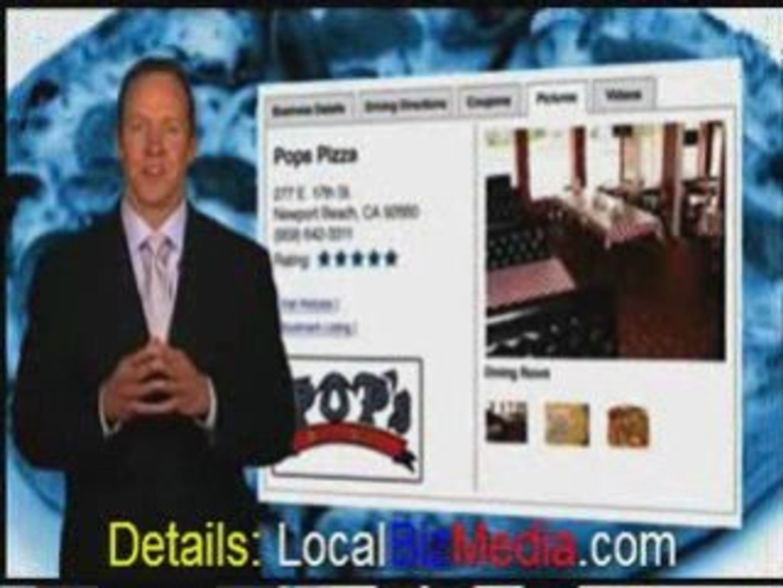 Website Advertising for Local Merchants based upon Zip Codes