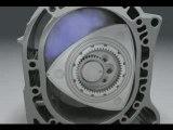 moteur à piston rotatif, Moteur Wankel - Mazda RX8