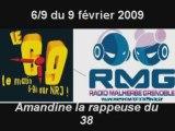 RMG DANS LE 6-9 D'NRJ AVEC AMANDINE LA RAPPEUSE DU 38