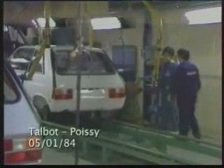 Grève aux usines Talbot-Poissy (janvier 1984)
