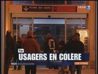 Journal Télévisé du 09/02/2009 sur les TER
