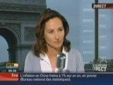 Ségolène Royal invitée de RMC et BFM TV