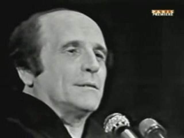 LEO FERRE C'EST EXTRA 1969 CLIP LIVE CHANSON FRANCE TV FR HQ