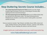 How To Stop Stuttering, Stuttering Therapy, Cure Stuttering