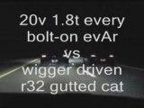 Golf r32 vs golf iv vr6 24v vs golf 1 8t 20v