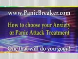Wondering what anxiety or panic attack treatment to choose