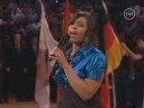 Jordin Sparks performs the National Anthem