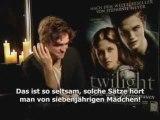 Robert Pattinson & Kristen Stewart German Interview