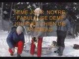 une semaine d'hiver au gite du maudit francais  au Québec