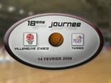 LFB 2008-2009 : J18 VILLENEUVE D'ASCQ / TARBES