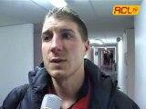 CLERMONT 1-2 LENS INTERVIEW JOUEUR LENSOIS ET STAFF LENSOIS