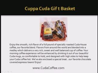 Cuda Coffee Gift Baskets