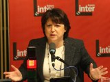 Martine Aubry - France Inter