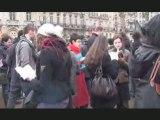 Flashmob St Michel contre la LRU