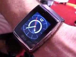 Montre téléphone tactile LG GD-910 3G Touch Watch Phone