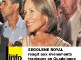 Ségolène Royal réagit aux événements en Guadeloupe