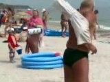 Un russe à la plage MDR