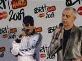 BRIT AWARDS 2009 -The Pet Shop Boys on producing Girls Aloud