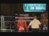 booba . combat .boxe thai. lourd! violent! 2009