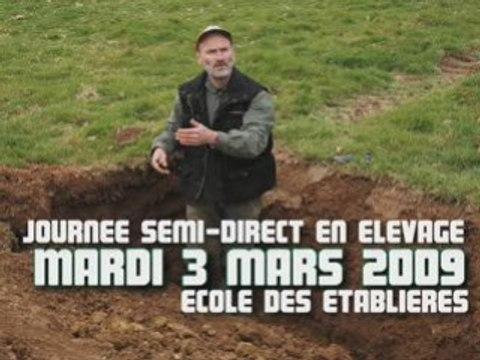 Journée Semi Direct en elevage du 3 mars 09