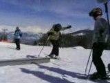 thyon journée de ski