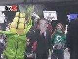 Pas de manif devant Sarkozy au Salon de l'agriculture