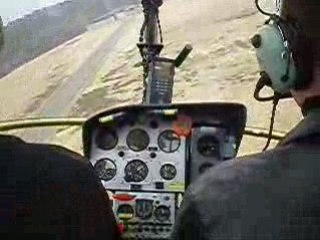 Helicoptere pilotage