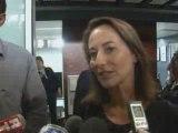 Segolene Royal arrive en Guadeloupe [22/02/2009]