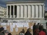 """RESF Actions contre l'enfermement des """"Sans-Papiers"""","""