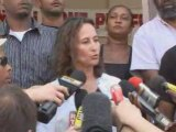 Segolene Royal en Guadeloupe [22/02/2009]