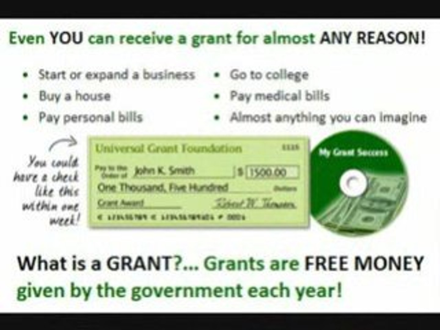 free grant money to pay bills