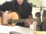 Le poinçonneur des Lilas Serge Gainsbourg reprise guitare