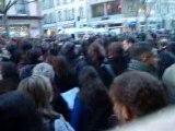 Manif du 19 février 2009: Les étudiants face aux CRS (2)