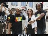 Guadeloupe - Ségolène Royal itw 24-02-2009