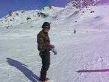 Militaire belge - Chutte en Ski arc 1800